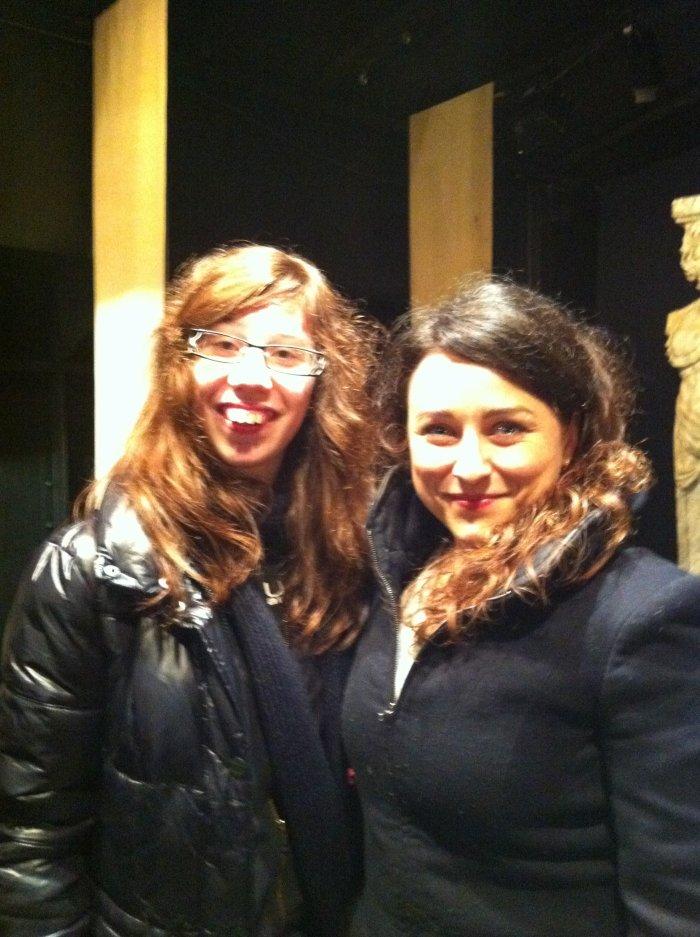 Estelle (Donna Elvira) et moi