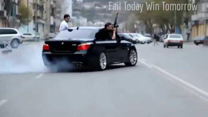 kavkaz mafia bmw kalach car armenia caucasian mafiosi drift