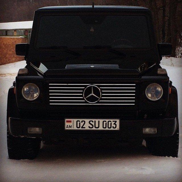 armenian car brabus g classe brigada haykakan voitures