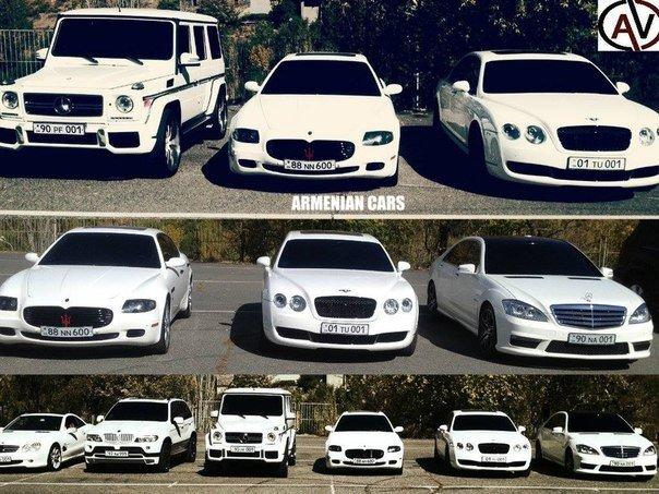 armenian cars cortege kavkaz style brabus bentley bmw