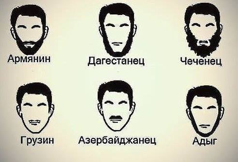 kavkazci armyane gruzin chechenec dag caucasian race