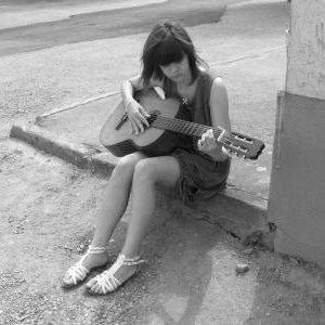 moi à la guitare