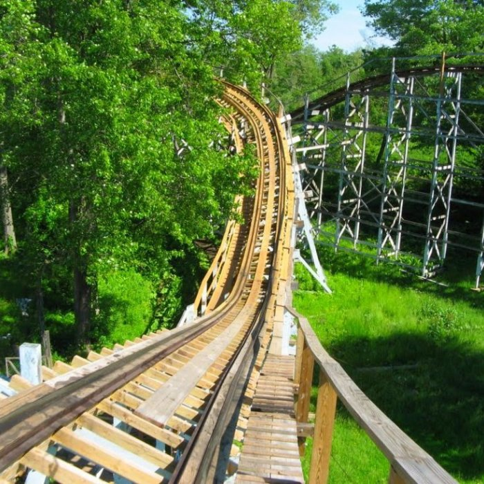 Blue Streak (Conneaut Lake Park)