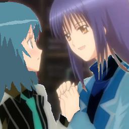 Hurina et Nagihiko (qui n'apparrait qu'a la saison 2)