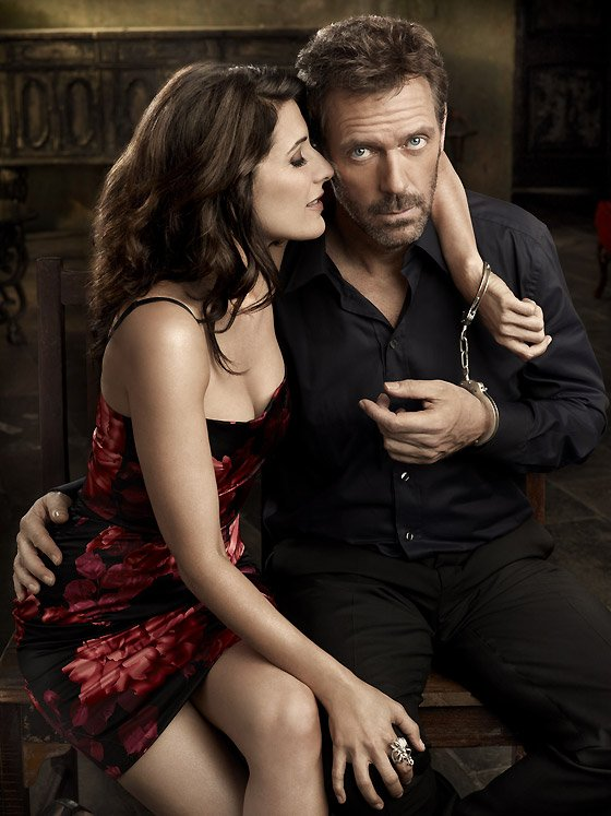 Hugh Laurie & Lisa Edelstein ~ L'amour ;)
