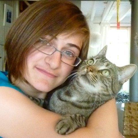 Moi & mon amour de chat <3