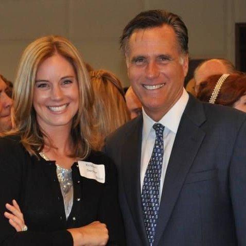 David Decker with Mitt Romney