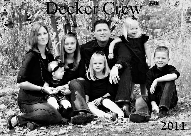 Family of David Decker - Utah
