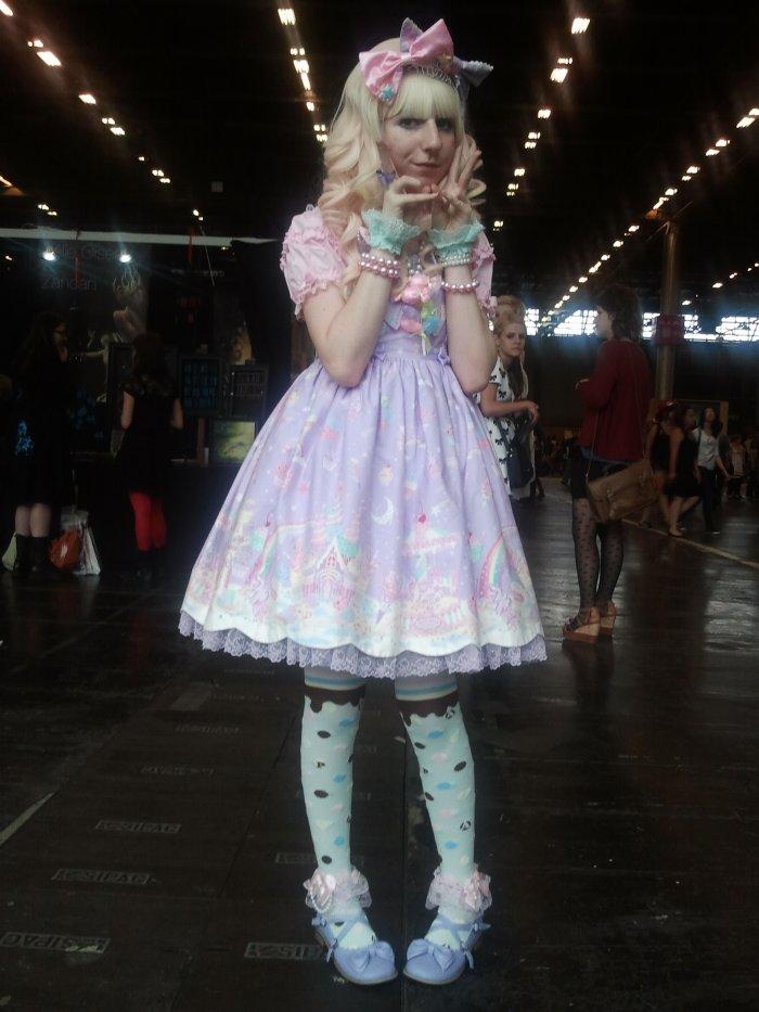 Coordi pour la Japan Expo 2012