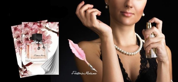 Parfum Luxe Femme. Federico Mahoro / Fm Group