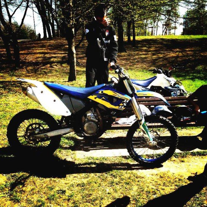 Moii en moto crooss :) :)