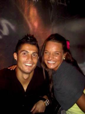 Cristiano Ronaldo et Romana