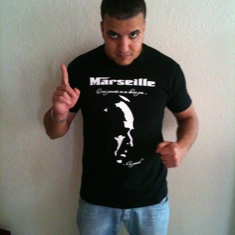 """Tshirt """"Parrain de Marseille"""" a retrouver sur www.sapofficiel.com"""