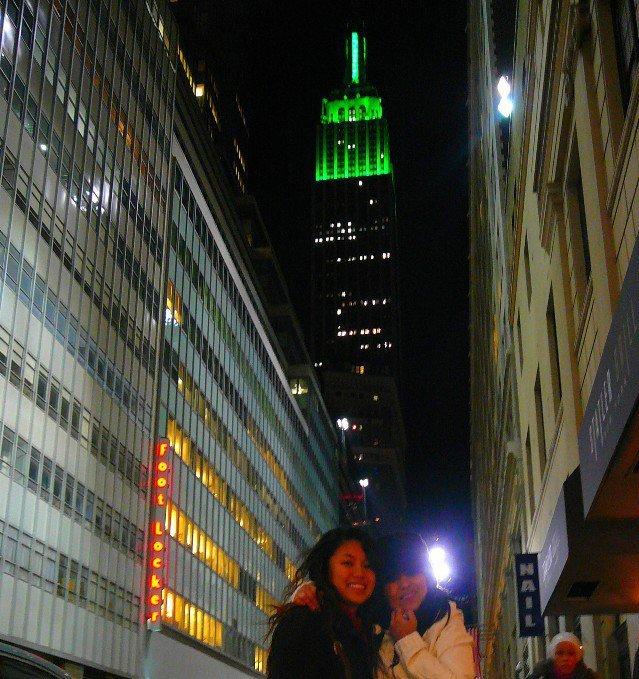 moi, ma nièce et l'Empire State Building