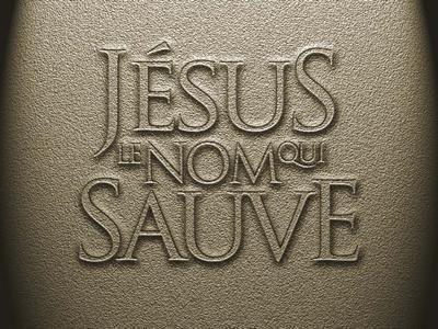 jesus sauve!