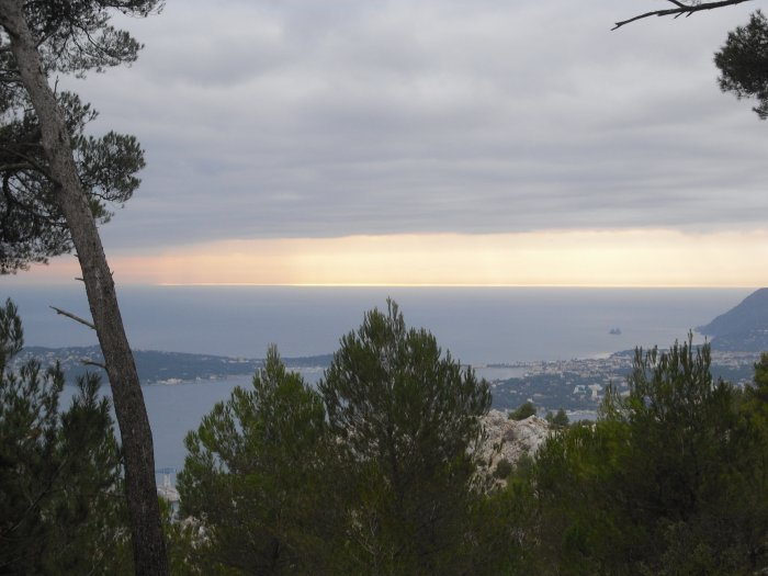 Pris du Mont Faron ( Toulon )