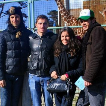 Tom Franco,Dave Franco,Betsy Franco,James Franco