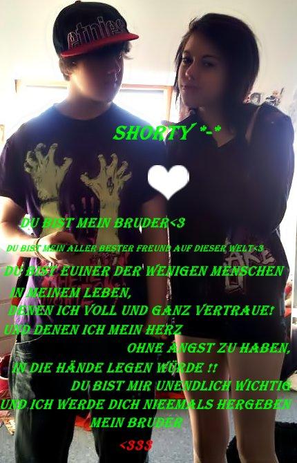 Ich und mein Bruder Shorty ♥♥