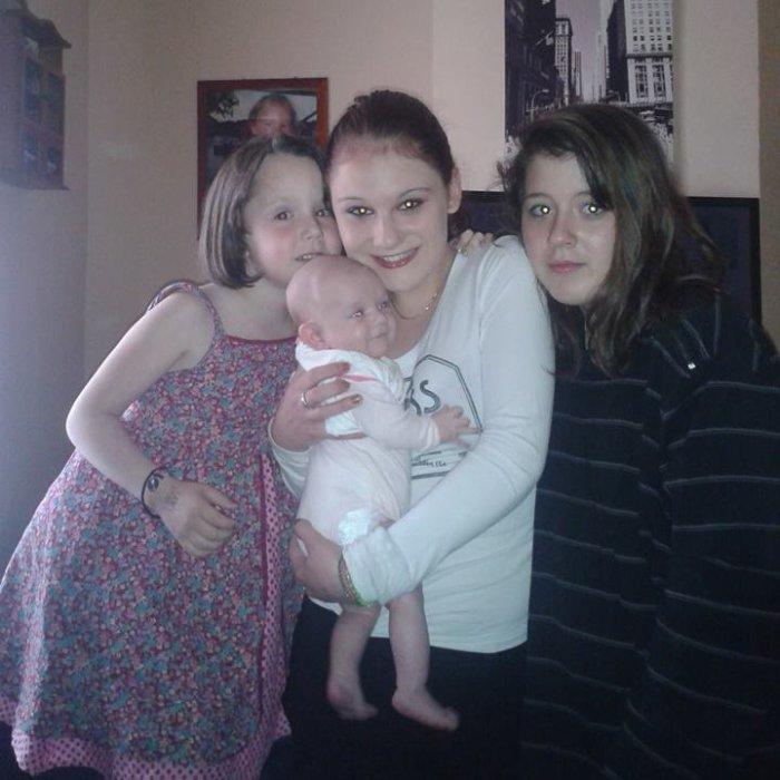 Mes petites soeur et moi : Julia - Eva - Laura - Ophélia <3