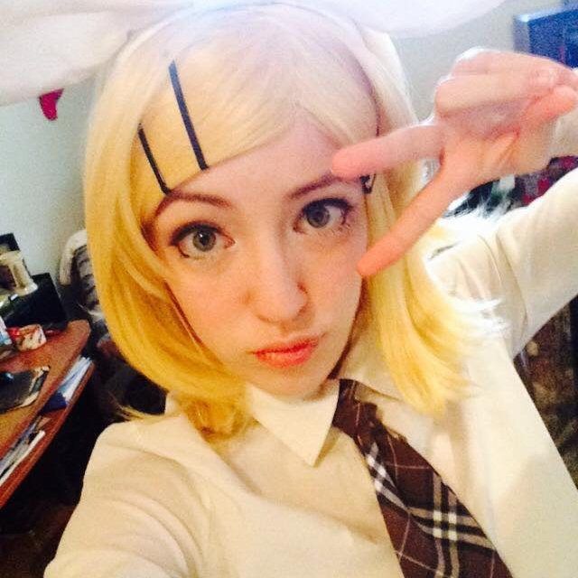 Cosplay Rin Kagamine Écolière