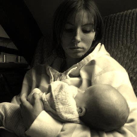 la fille de mon cousin quand elle etait bebe avec moi =)