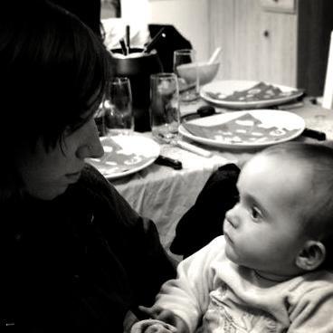 tjr la petit fille de mon cousin avec moi