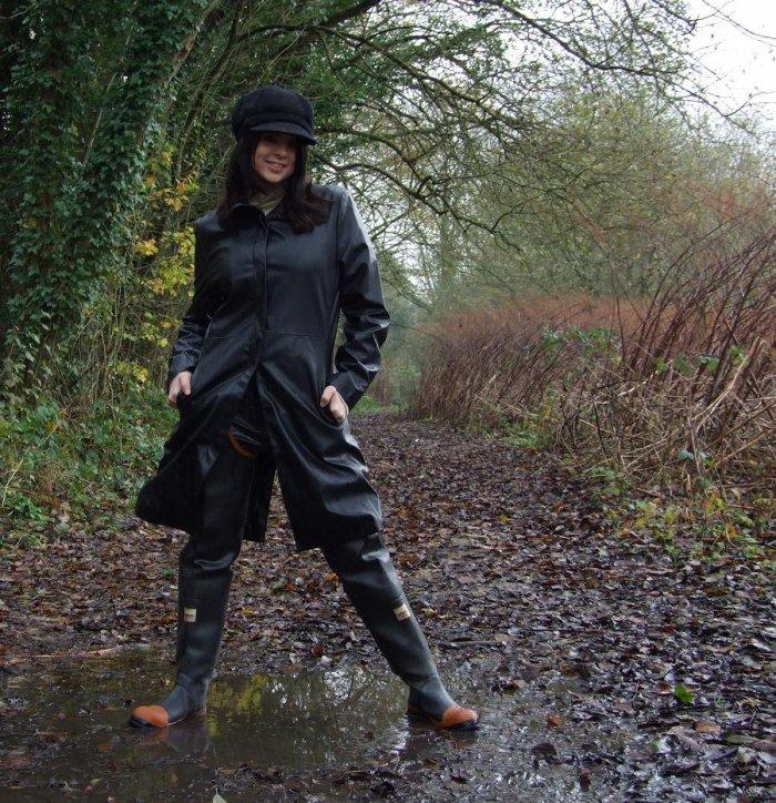 Tu viens, chérie, patauger dans la boue avec moi...?