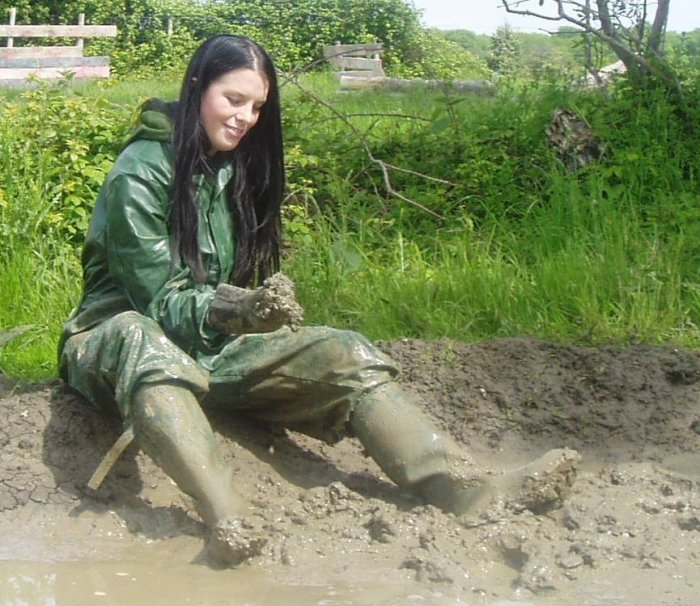 la boue, y'a que ça ici !