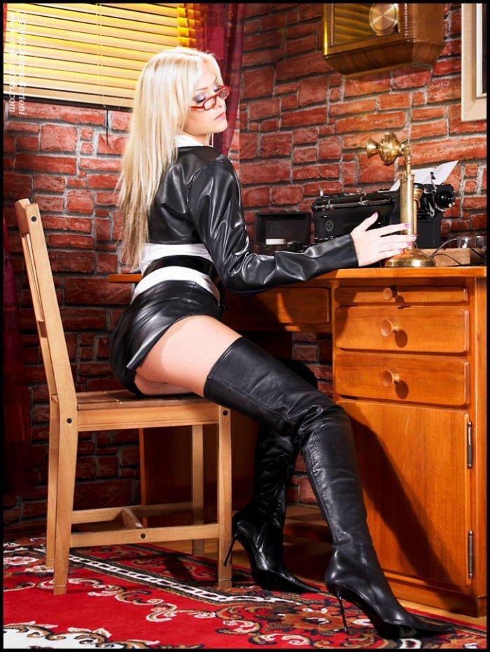 Bottée au bureau, mon boss adore...pas vous ?