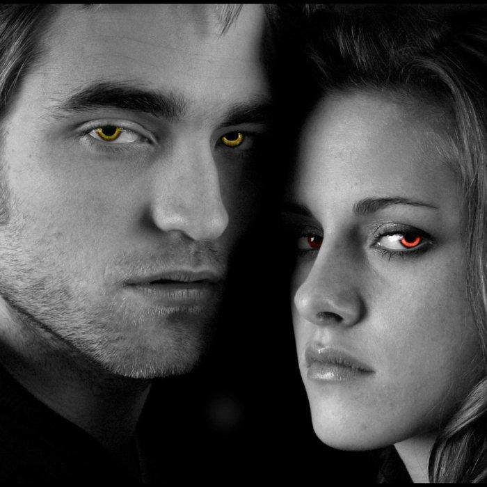 Le beau couple vampire...
