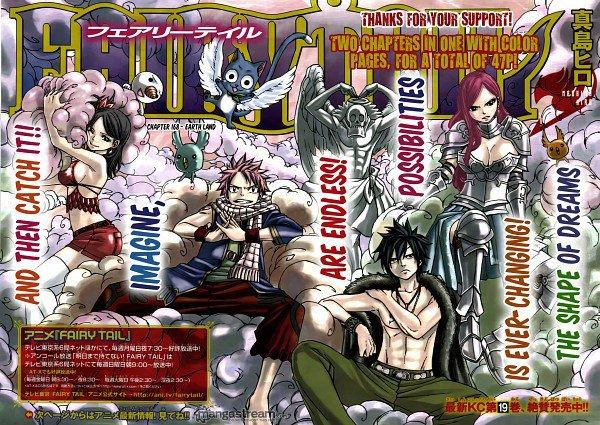 Noah, Natsu, Grey et Kaguane