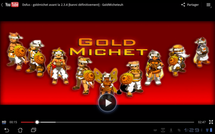 Gold Michet comme on l'aime