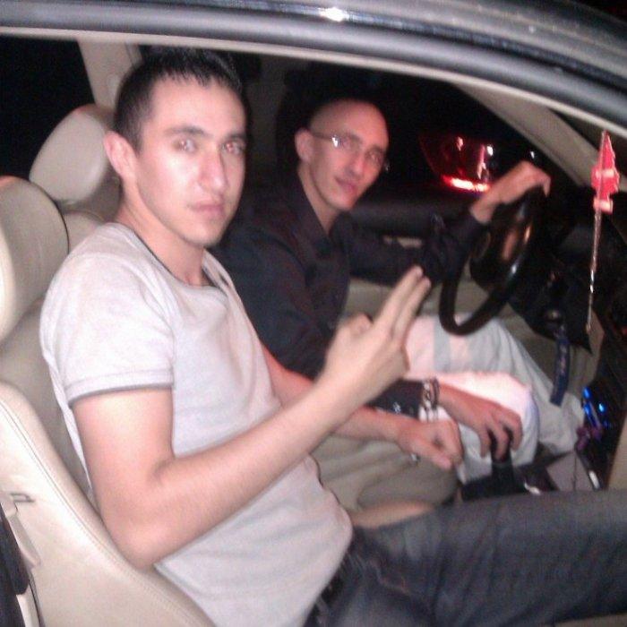 Moi et le grand frère en mode virée nocturne ;)