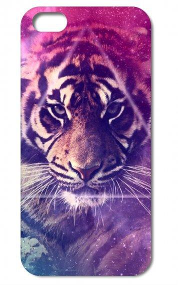 Superbe coque d'un tigre.