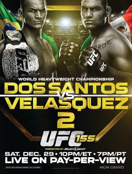Dos Santos vs Velasquez 2 UFC 155