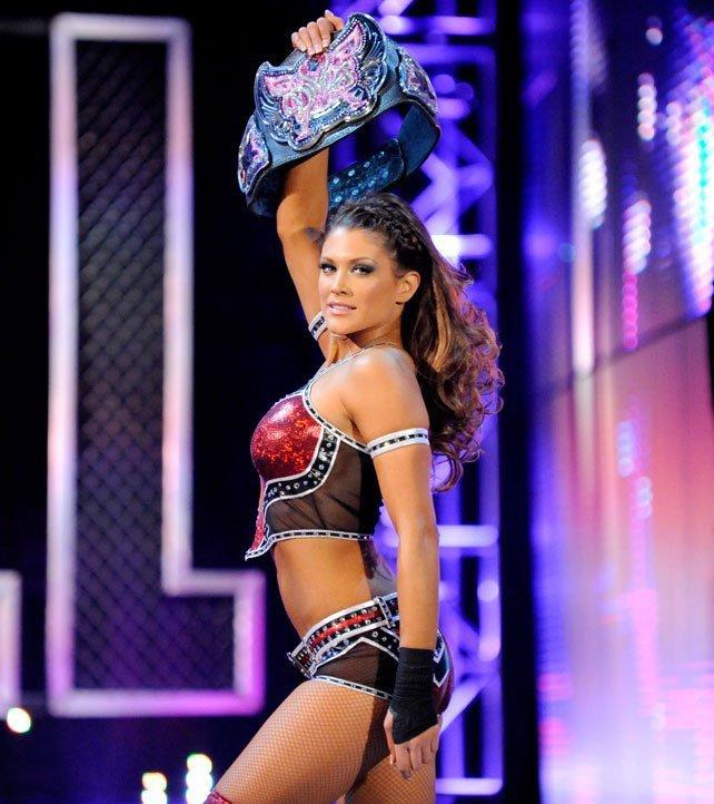 Eve Torres à quitté la WWE le 14 janvier 2013