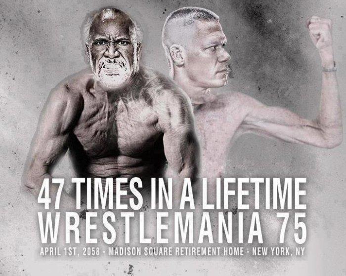 WM 75 - 47 fois dans une vie: John Cena vs The Rock