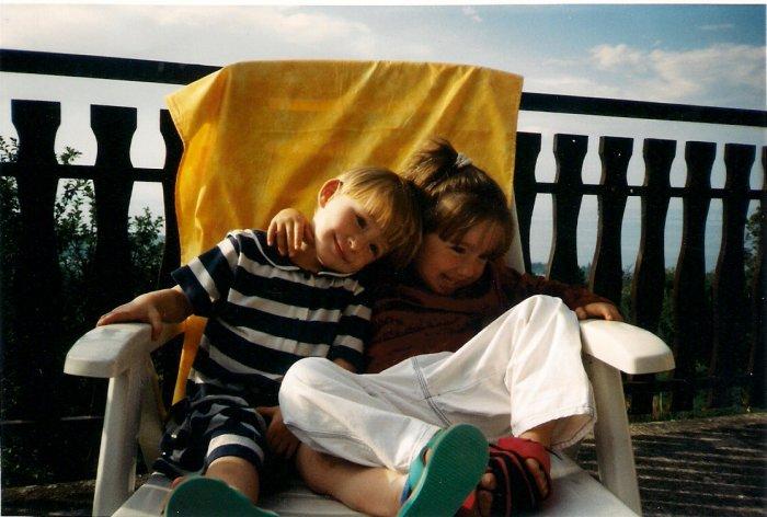 Ma soeur et moi !!! <3