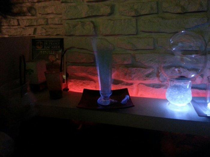 mojito flambee