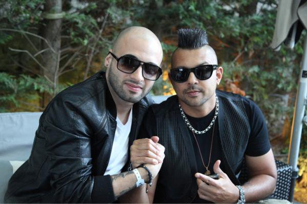 with Sean Paul