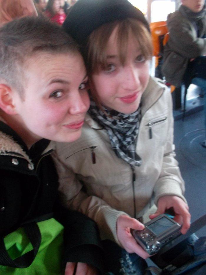 Marie et Moi sur le bateau-mouche à Paris ♥♥♥♥♥♥