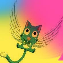 Happy de Fairy Tail XD