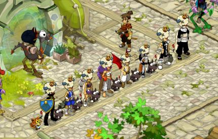 Team Spook arrivé niveau 58
