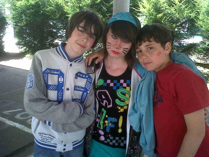 Mes deux chouchou :) 5tristan et Sofiane)