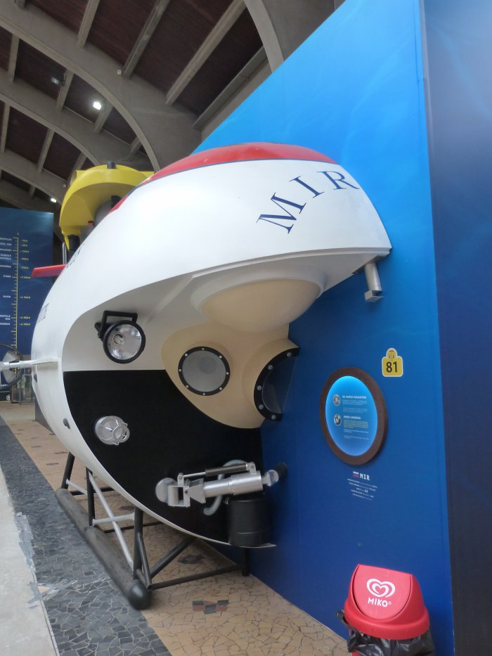 Maquette de Mir 2