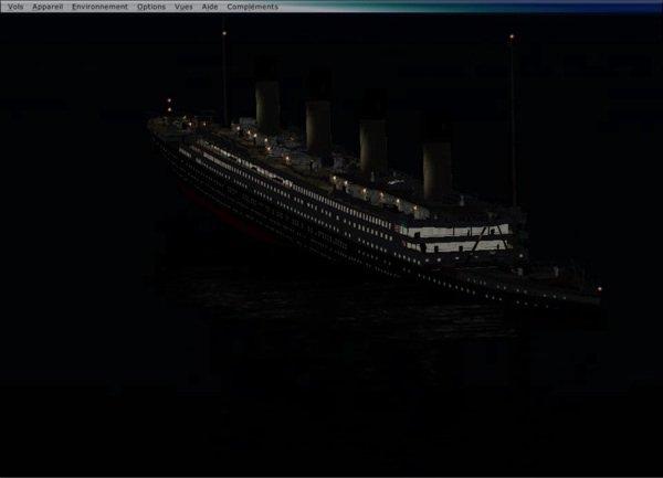Simulation du naufrage