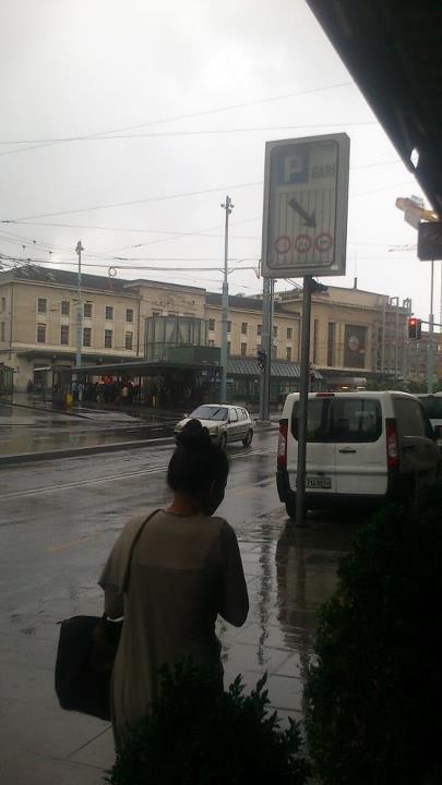Genève capitale de la pluie
