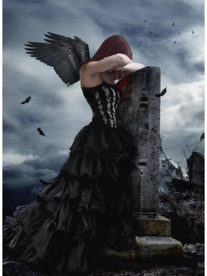 la tristesse d'un ange...