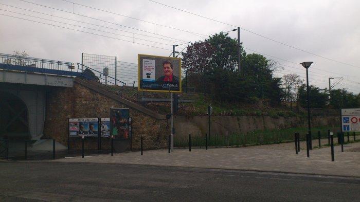 Campagne de pub dans toute la France...