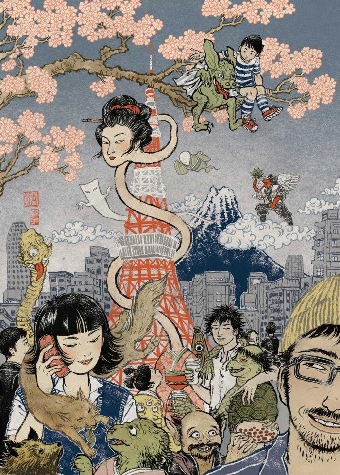 Yokai, monstres Japonais.